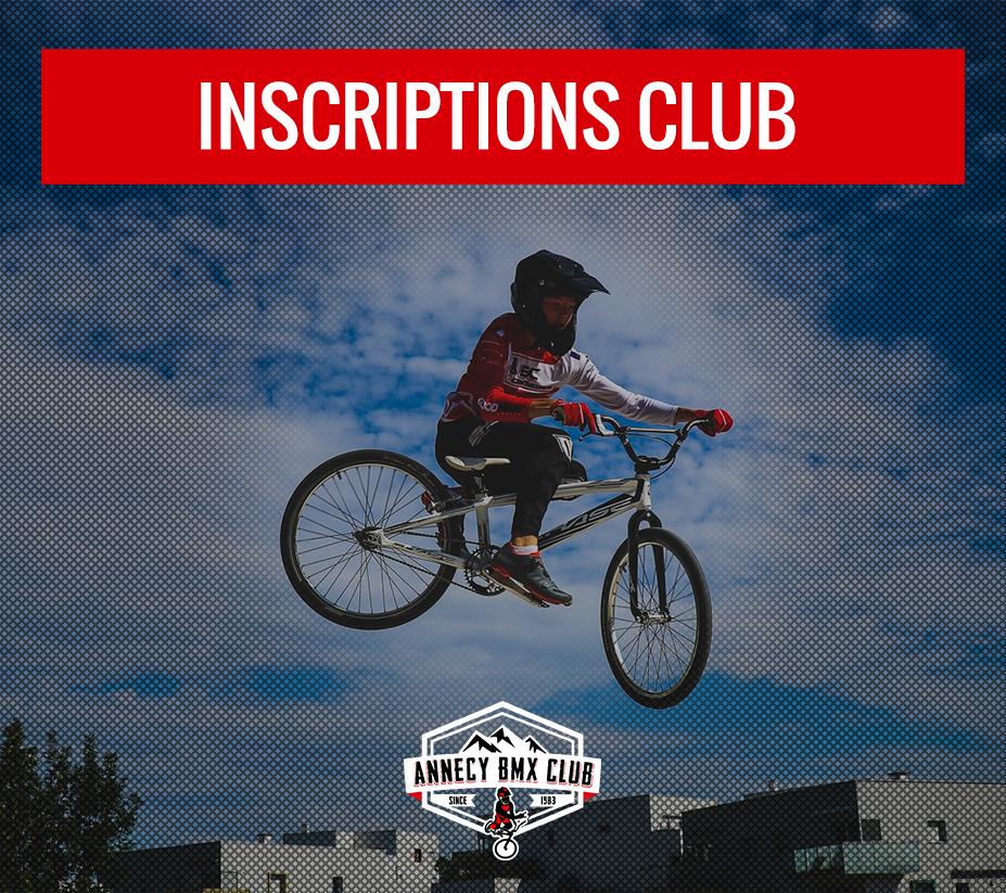 inscriptions club